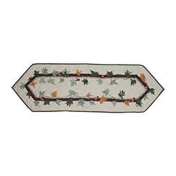 Patch Magic Falling Leaves Table Runner Small, 54-Inch by 16