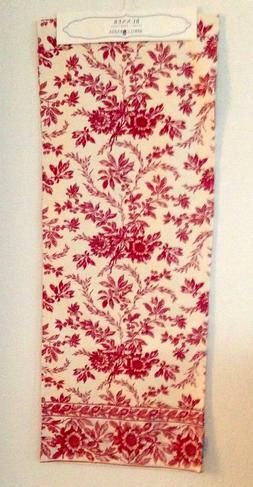 "April Cornell Floral Table Runner17""x90"" NWT"