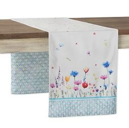 Maison d' Hermine Flower in The Field 100% Cotton Table Runn