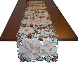 EcoSol Designs Flowery Table Runner