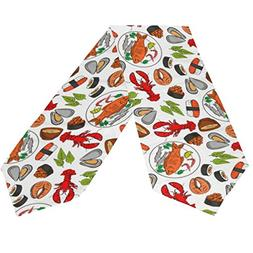 ABLINK Good Lunch Table Runner 13 x 90 Inches Long Table Top
