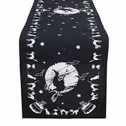 Simhomsen Halloween Table Runner for Dinner Party and Scary