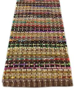 """Park Designs 36"""" Handcrafted Loomed Table Runner in Rich Col"""