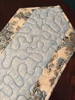 Handcrafted-Quilted Table Runner - Spring Has Sprung - NEW f