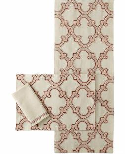 Homewear Harvest Classic Twist Collection Table Runner, Natu