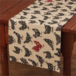 Hen Pecked Placemat Set of 4 Chicken Table Mat