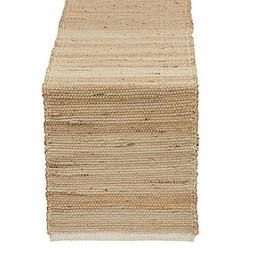 Jute Table Runner Tropical Look - Design Imports - DII - Gre