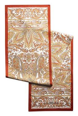 Maison d' Hermine Kashmir Paisley 100% Cotton Table Runner 1
