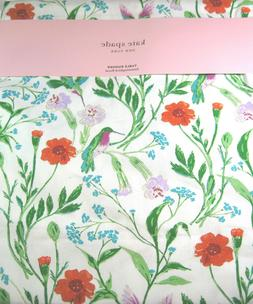 Kate Spade Hummingbird Floral Table Runner Cotton 15 x 90 IN