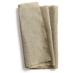 Ling's moment 14 x 84 Inch Brown Burlap Linen Table Runner f