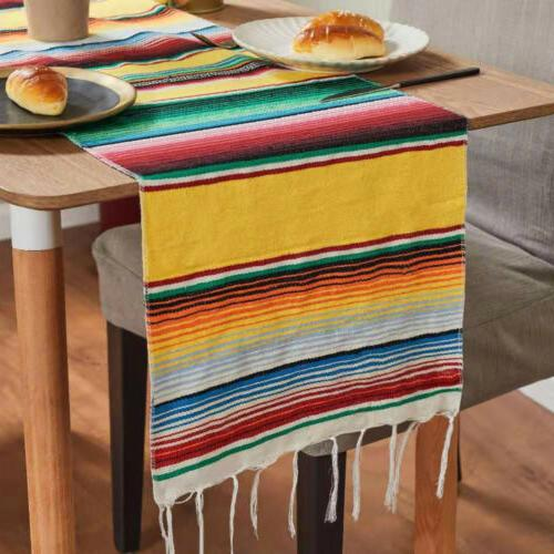 """1/5/10Pc 14x84"""" Table Runners for Fiesta Party"""