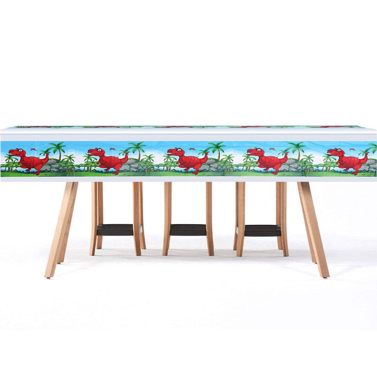 1 Pc Table Runner Disposable Rectangle Table Cover Tableclot