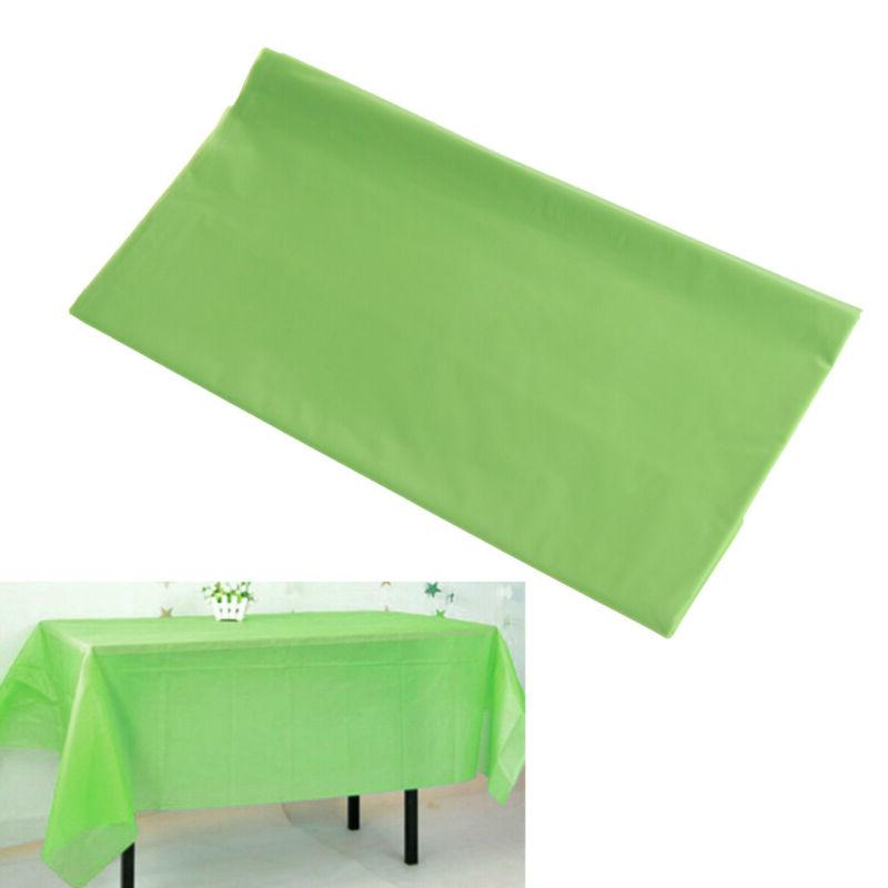 1 pc tablecloths rectangle disposable table cover