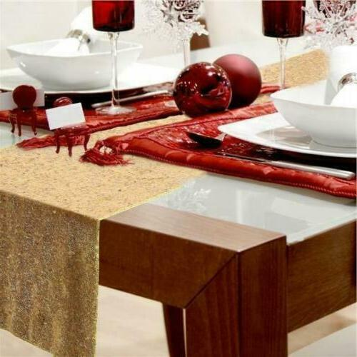 """12"""" x 72"""" Tablecloth Party Home Decoration"""