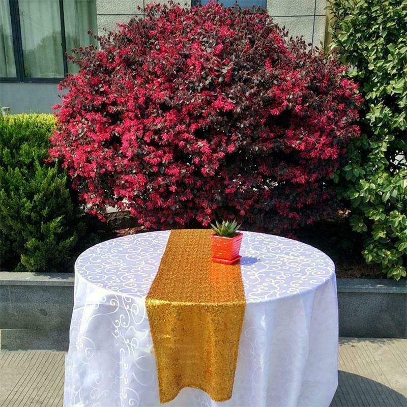 Tablecloth Table Runner Wedding Party Banquet Home