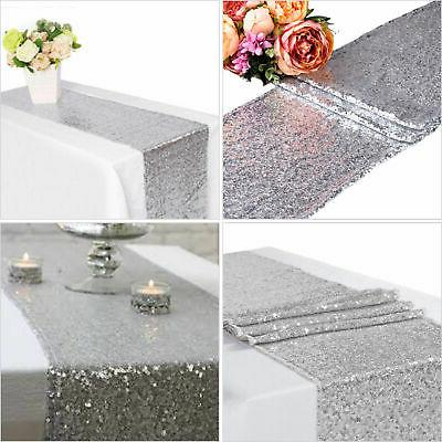 "12""x72''/108""/118"" Sequin Runner Cloth Party"