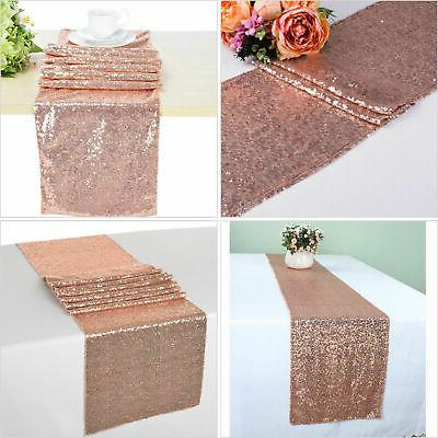 "12""x72''/108""/118"" Sequin Runner Wedding Party"