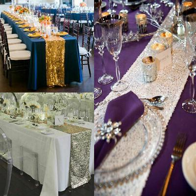 "12""x72''/108""/118"" Sparkle Runner Cloth Party Decor"