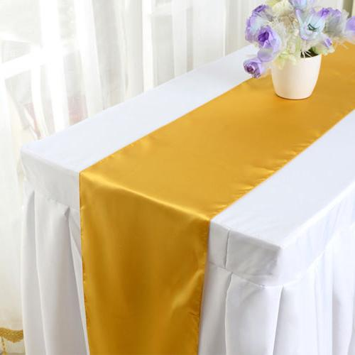 """5 10 Party Table Runner Banquet 12x108"""""""