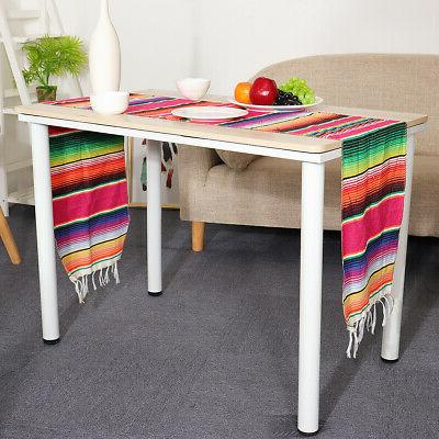 84x14'' Table Runner Tablecloth Cotton Party Home Decor