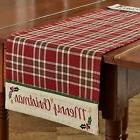 """Table Runner 36"""" - Merry Christmas by Park Designs - Embroid"""
