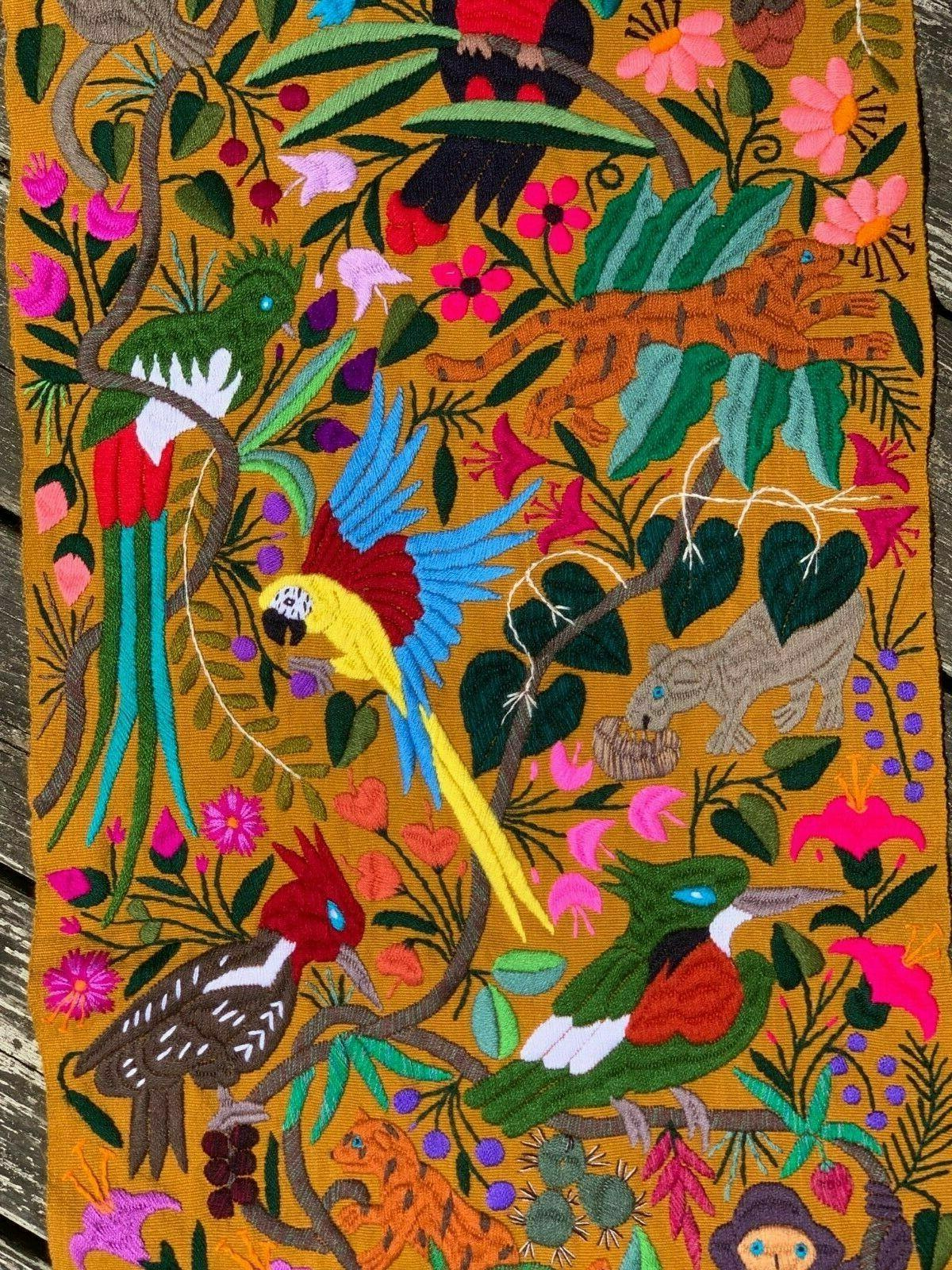 Animals Parrots Birds 60x16