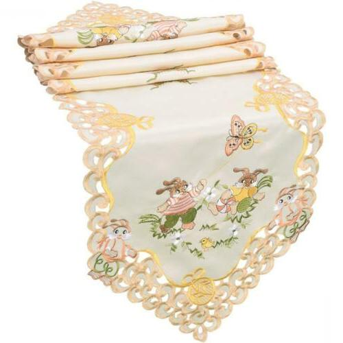 Grelucgo Easter Table Linen, Inches
