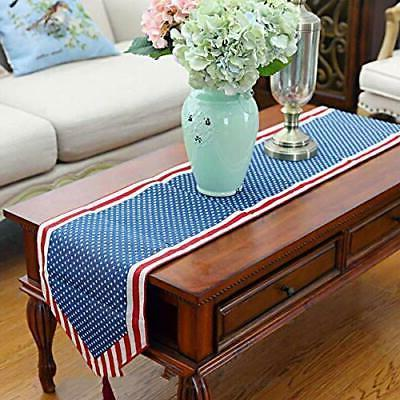BinaryABC 4th July Table Tablecloth Table