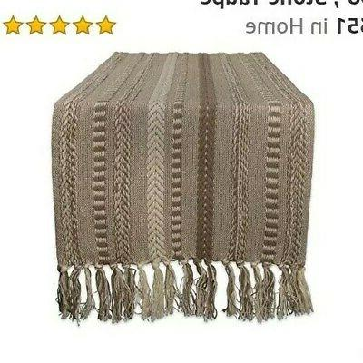 braided cotton table runner perfect