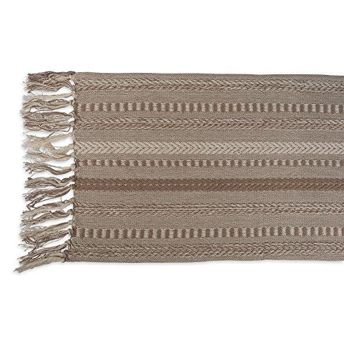 """DII Braided Fall and Everyday Use, 15x108"""", Taupe"""