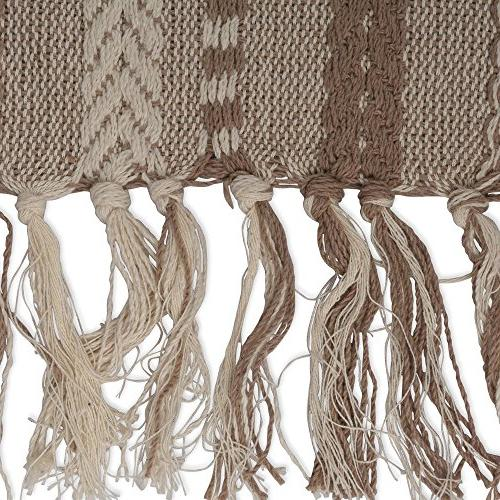 DII Braided Runner Perfect Fall Everyday Taupe