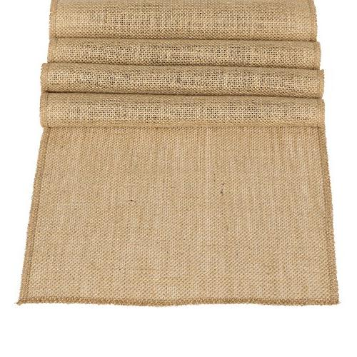 burlap hessian table runner jute