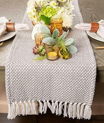 DII Braided Table Runner, for Spring, Fall