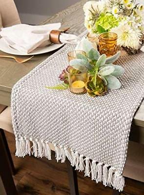 DII CAMZ11265 Braided Table for Spring, Fall