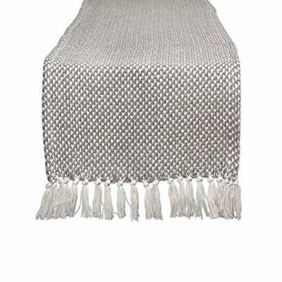 camz11265 braided cotton table runner perfect