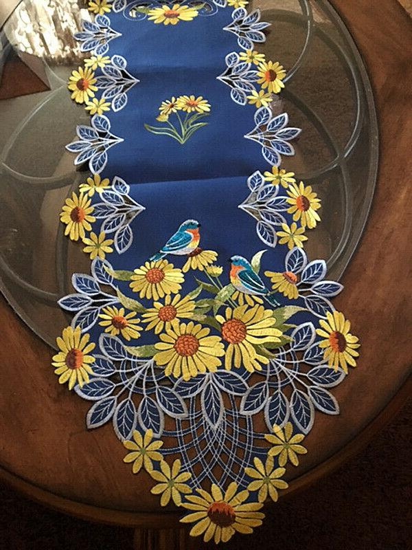 Colorful Runner Scarf Floral