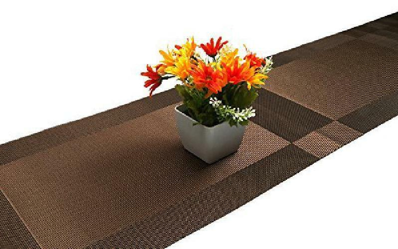 Compatible Placemats Table 1 Piece Crossweave Vinyl