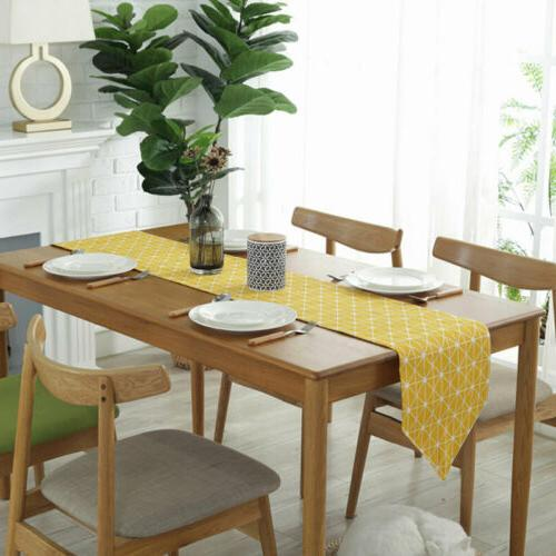 Cotton Runner Tablecloth Party