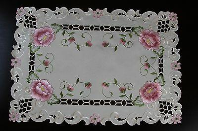 Cutwork Lace Placemat Table Runner Wedding
