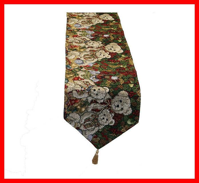 """Violet Tapestry Table 13"""" x 70"""" Teddy"""