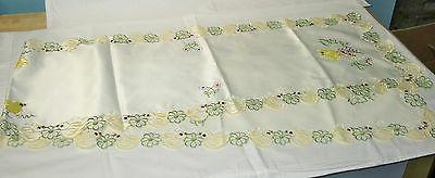 Easter Embroidered Table 72 13 Inches