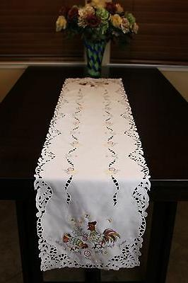 Easter Holiday Egg Tablecloth Placemat Runner