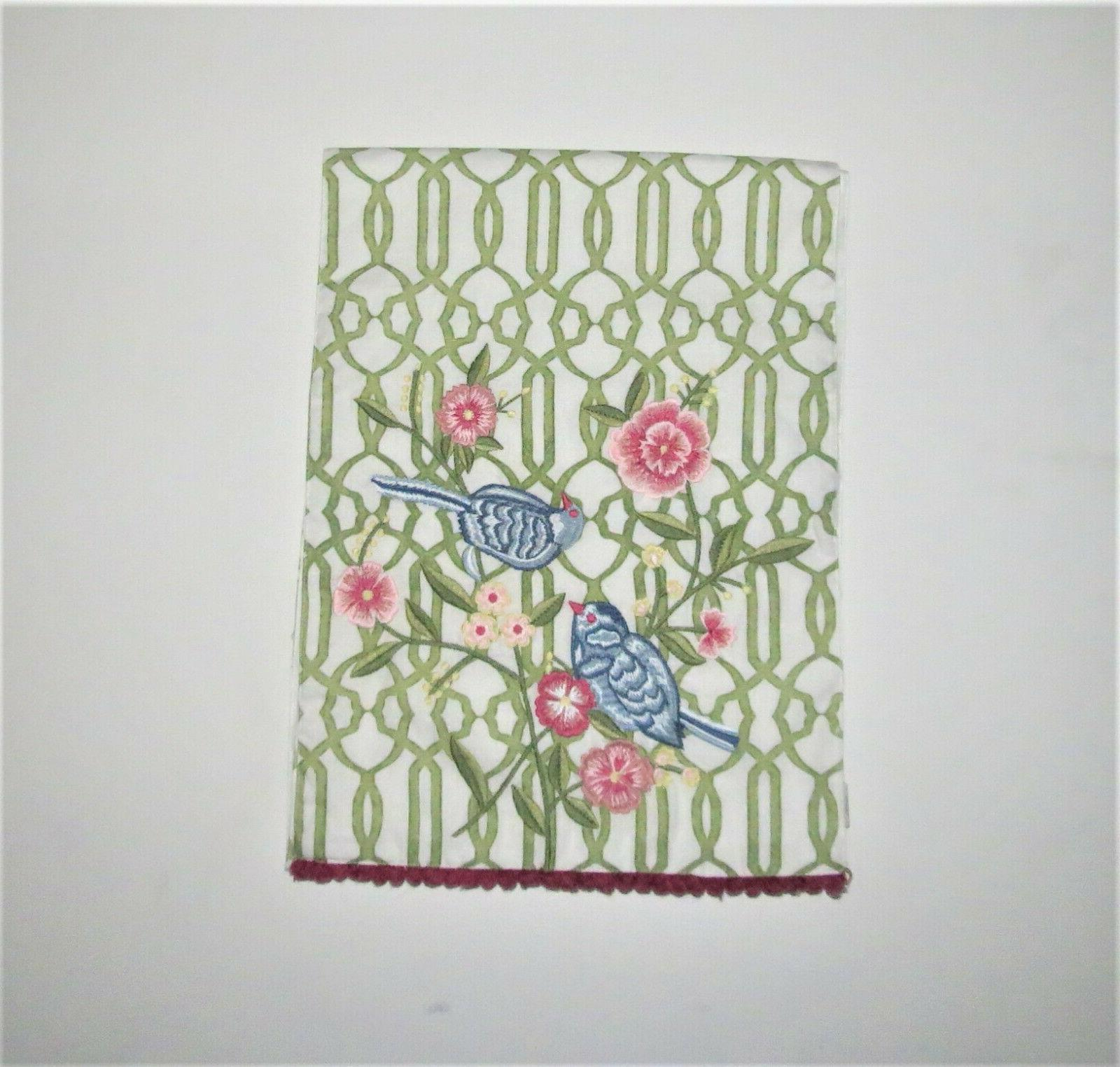 Pier One EMBROIDERED TABLE RUNNER WITH