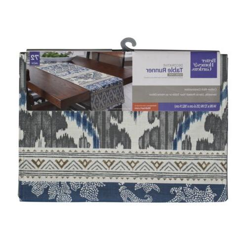 Better Homes and Gardens Global Stripe Decorative Table Runn