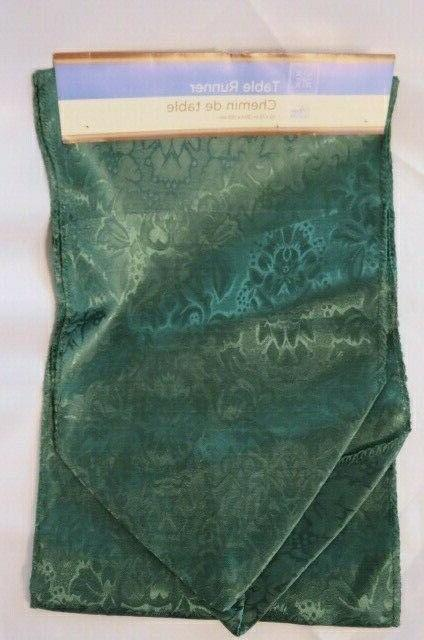 """Home Collection -Green Polyester 72"""""""