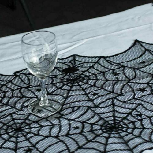 Halloween Lace Web Table Party Home Cute US