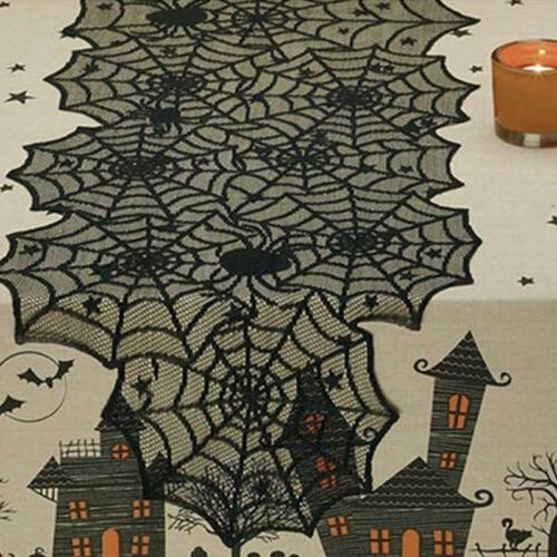 Halloween Black Lace Spider Web Party Cute US