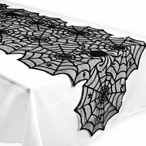 Halloween Web Tablecloth Party Home US