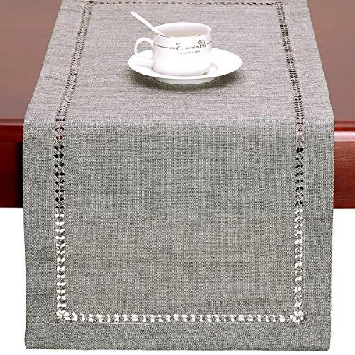 GRELUCGO Dining Table Runner Dresser Scarf, by Inch