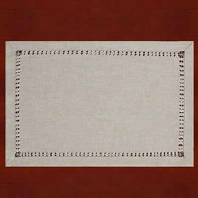 Grelucgo Handmade Rectangle Placemats inch...